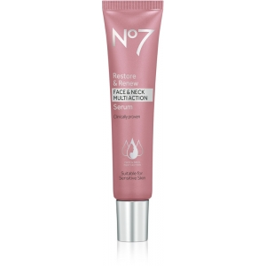 No7 Restore & Renew Face & Neck Multi Action Serum by Boots