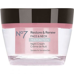 No7 Restore & Renew Face & Neck Multi Action Night Cream by Boots