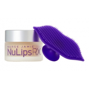 NuLips RX Moisturising Lip Balm + Exfoliating Lip Brush by Nurse Jamie