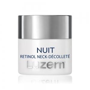 Nuit Retinol Night Neck-Décolleté Cream by Luzern Laboratories