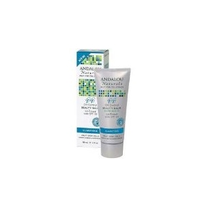 Oil Control Beauty Balm Un-Tinted with SPF 30 by Andalou Naturals