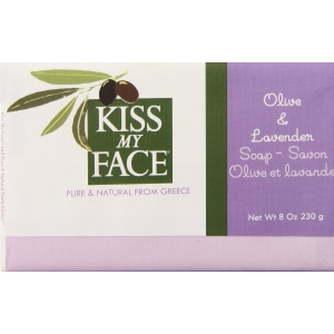 Olive & Lavender Soap by Kiss My Face