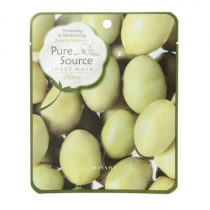 Olive Pure Source Sheet Mask by Missha