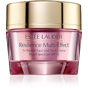 Resilience Multi-Effect Tri-Peptide Face and Neck Creme SPF 15 For Dry Skin by Estée Lauder