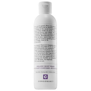 Organic Body Wash (Peppermint & White Sage) by Consonant Skincare