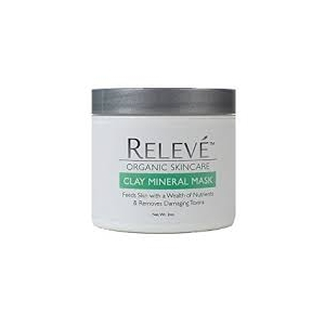 Organic Clay Mineral Mask by Relevé Organic Skincare