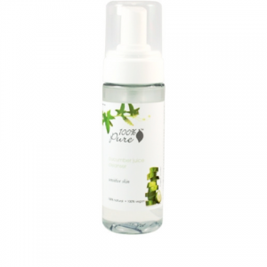 Organic Cucumber Juice Facial Cleansing Foam by 100% Pure