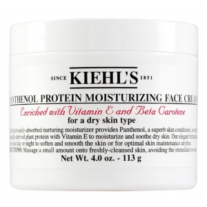 Panthenol Protein Moisturizing Face Cream, for Normal to Dry and Dry Skin Types by Kiehl's