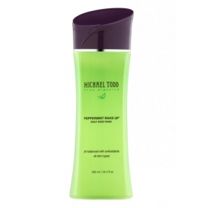 Peppermint Wake Up Wash Daily Body Wash by Michael Todd