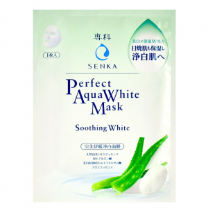 Perfect Aqua White Mask - Soothing White by Senka
