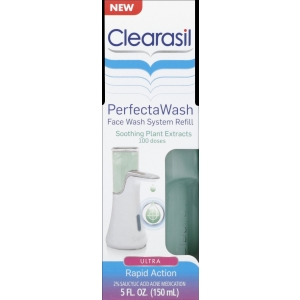 PerfectaWash Automatic Face Wash Refill, Soothing Plant by Clearasil