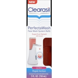 PerfectaWash Automatic Face Wash Refill, Superfruit Splash by Clearasil