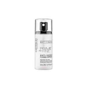 Prime And Fine Anti-Shine Fixing Spray - Matt Finish by Catrice Cosmetics