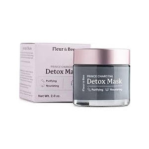 Prince Charcoal Natural Detox Mask by Fleur & Bee