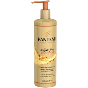 Pro-V Gold Series Sulfate Free Shampoo by Pantene