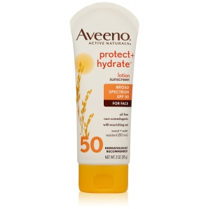 Protect + Hydrate Lotion Sunscreen with Broad Spectrum SPF 50 by Aveeno