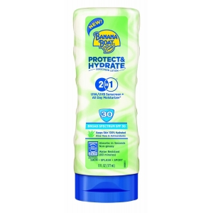 Protect & Hydrate Sunscreen Lotion SPF 30 by Banana Boat