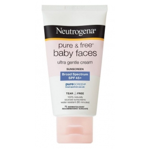 Pure & Free Baby Faces Ultra Gentle Sunscreen SPF 45+ by Neutrogena
