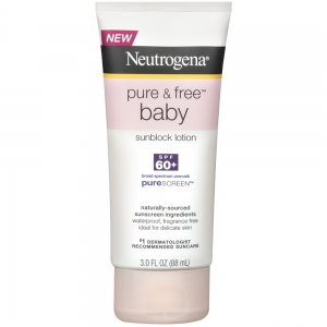 Pure & Free Baby Sunscreen Lotion SPF 60+ with PureScreen by Neutrogena