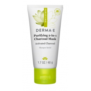 Purifying 2-in-1 Charcoal Mask with Activated Charcoal by Derma E