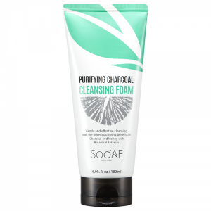 Purifying Charcoal Cleansing Foam by Soo Ae