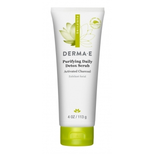Purifying Daily Detox Scrub with Activated Charcoal by Derma E