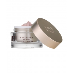 Purifying Detox Pink Clay Mask with Dual Action Cleansing Cloth by Emma Hardie