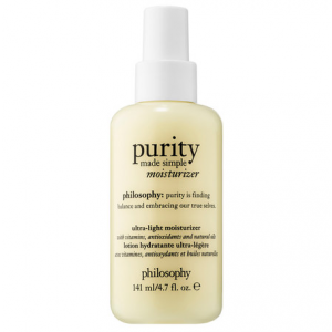 Purity Made Simple Moisturizer by philosophy