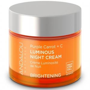 Purple Carrot + C Luminous Night Cream by Andalou Naturals