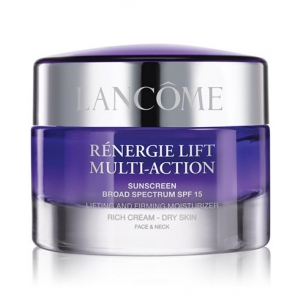 Rénergie Lift Multi-Action Sunscreen Broad Spectrum SPF 15 Lifting & Firming Moisturizer Rich Cream, Dry Skin by Lancome