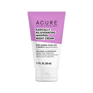Radically Rejuvenating Whipped Night Cream by Acure