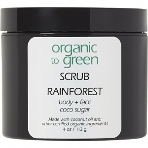 Rainforest - Sugar Scrub by Organic to Green