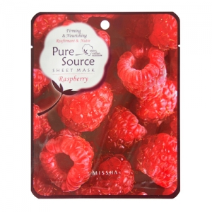 Raspberry Pure Source Sheet Mask by Missha