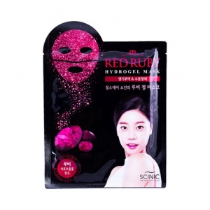 Red Ruby Hydrogel Mask by Scinic