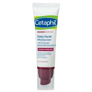 Redness Relieving Daily Facial Moisturizer with Sunscreen Broad Spectrum SPF 20 by Cetaphil