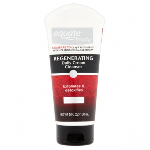 Regenerating Exfoliating & Detoxifying Daily Cream Cleanser by Equate