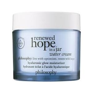 Renewed Hope in a Jar Water Cream Hyaluronic Glow Moisturizer by philosophy