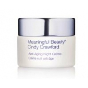 Anti-Aging Night Creme by Meaningful Beauty Cindy Crawford