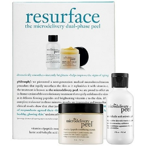 Resurface: The Microdelivery Dual-Phase Peel (Step 1 Peptide/Vitamin C Crystals) by philosophy