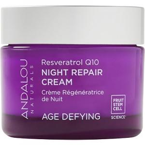 Resveratrol Q10 Night Repair Cream by Andalou Naturals