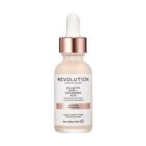 Revolution Skin Mild Skin Exfoliator - 5% Lactic Acid + Hyaluronic Acid by Revolution Skincare