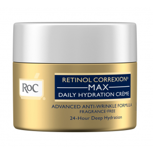 Roc Retinol Correxion Max Daily Hydration Crème Advanced Anti-Wrinkle Formula, Fragrance Free by RoC