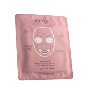 Rose Gold Brightening Facial Treatment Mask by 111Skin