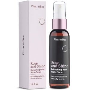 Rose and Shine - Refreshing Rose Water Toner by Fleur & Bee