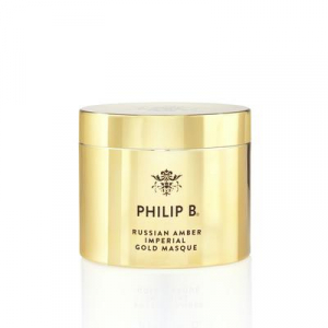 Russian Amber Imperial Gold Masque by Philip B
