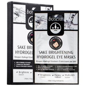Sake Brightening Hydrogel Eye Masks by Boscia