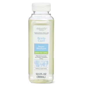 Scalp Care Super Shampoo - Green Tea + Apple by Equate