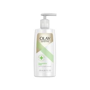 Sensitive Calming Liquid Fragrance Free Facial Cleanser by Olay