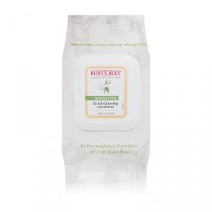 Sensitive Facial Cleansing Towelettes With Cotton Extract by Burt's Bees