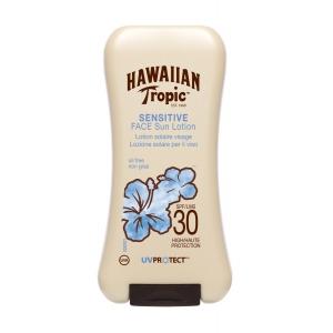 Sensitive Skin Face Lotion Sunscreen Broad Spectrum SPF 30 by Hawaiian Tropic